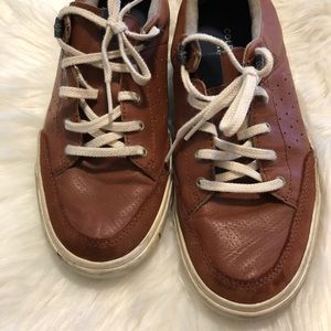 Cole Haan Brown Leather Shoes Men's